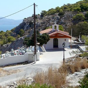 Church of Virgin Mary in Metochi - Holidays in Agistri - Agistri island