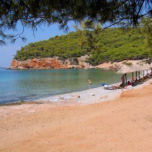 Dragonera Beach - Holidays in Agistri